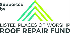 logo listed places of worship roof repair fund