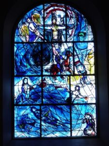 The east window (window 8)  - photo by Philip French