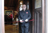 Food Hub Bishop Jonathan Clarke opening