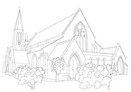 All Saints Outline