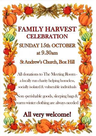 Harvest St Andrews