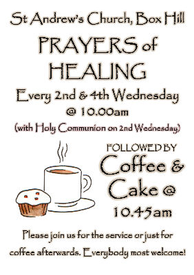 Wednesday Service At St Andrews Poster with Communion
