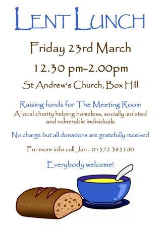 Lent Lunch St Andrews