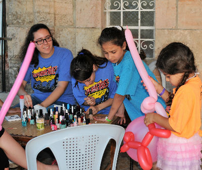 Ramallah holiday Bible club