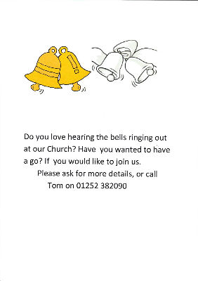 New Bell Ringers Required