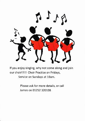 New Choir Members required