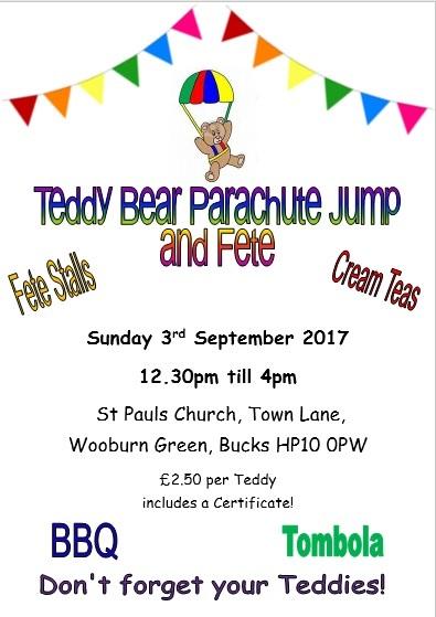 Teddy Bear Parachute 2017