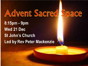 Advent Sacred Space
