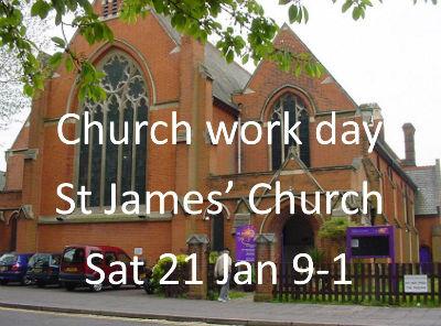 St James Work Day Jan 2017