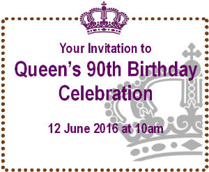 Homepage Queens 90 Birthday