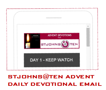 St Johns advent email