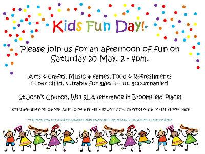 Kids Funday Flyer