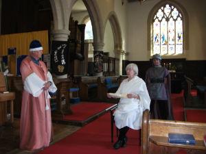 Caiaphas accuses Jesus before Pontius Pilate