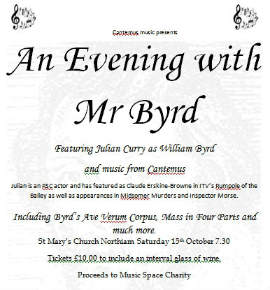 An Evening With Mr Byrd