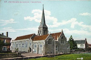 Postcard of St Andrews in 1905 provided by Dr T Wakeford