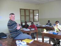 Iain in Tanzania