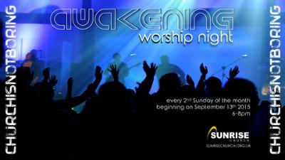 sunrise worship might