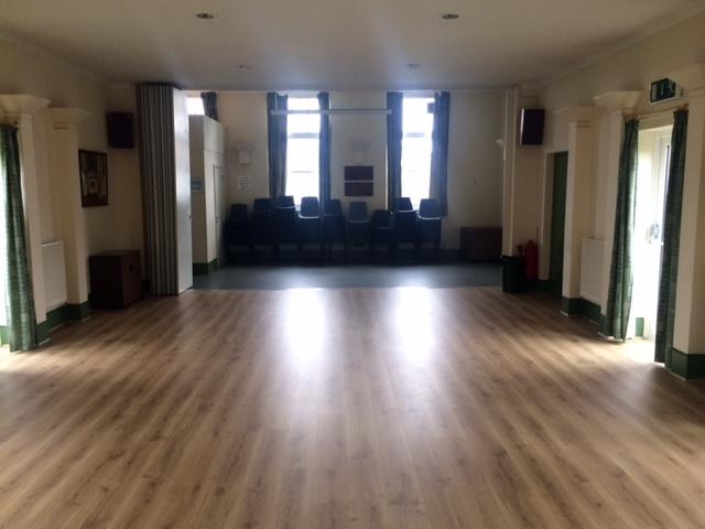 Interior of Vestry Hall
