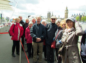 Londoners Visit: boatride and Greenwich 5 May 2015