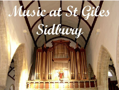 Poster for St Giles Sidbury music