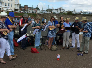 Strummers on the Sea Front