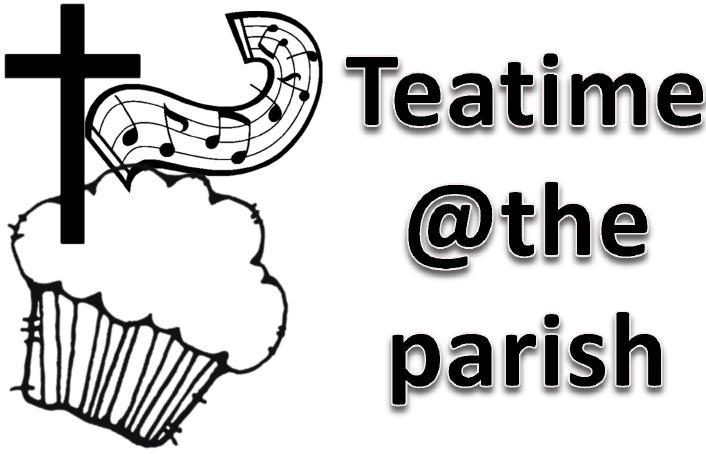 Teatime At The Parish Button