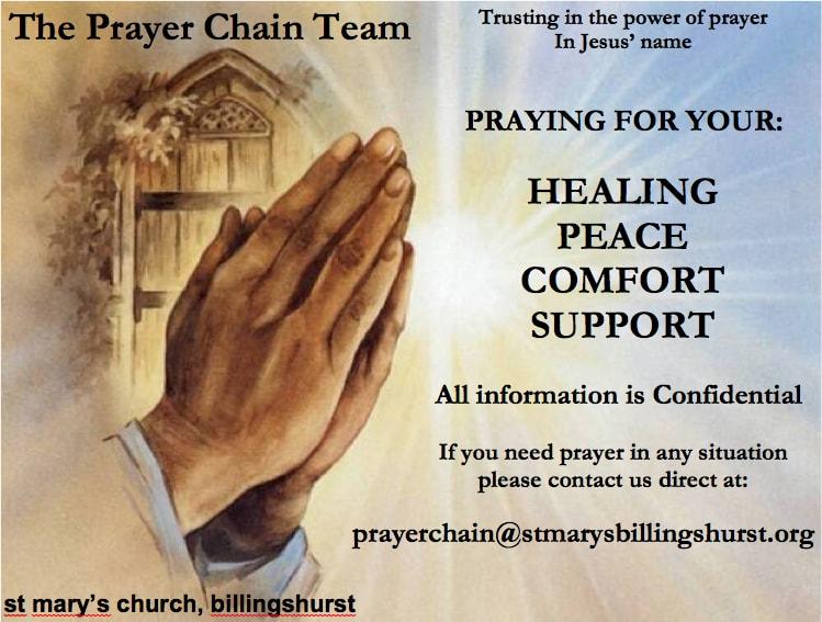 Prayer Chain Poster