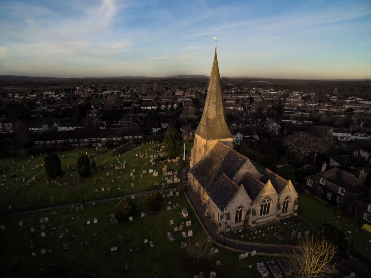 St Marys Aerial Photo