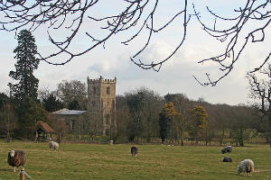 Croxton Church outside