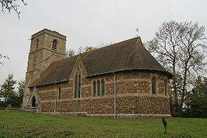 Knapwell Church building