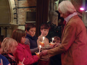 Longstowe Christingle
