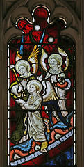 Croxton angels window