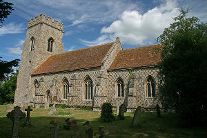 Papworth St Agnes church building