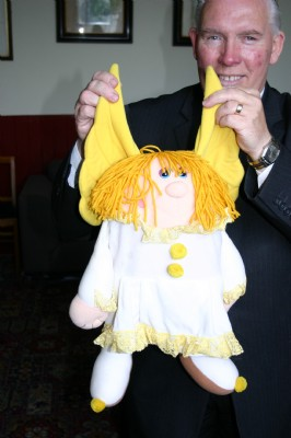 Puppet of Angel presented by George Lunn