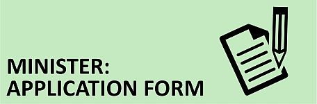 Minister - Application Form