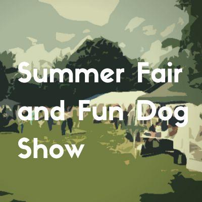 Button Church fair and dog show