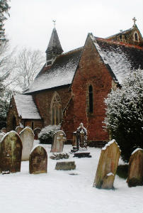 Holy Innocents in the snow February 2012