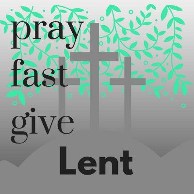 Lent button