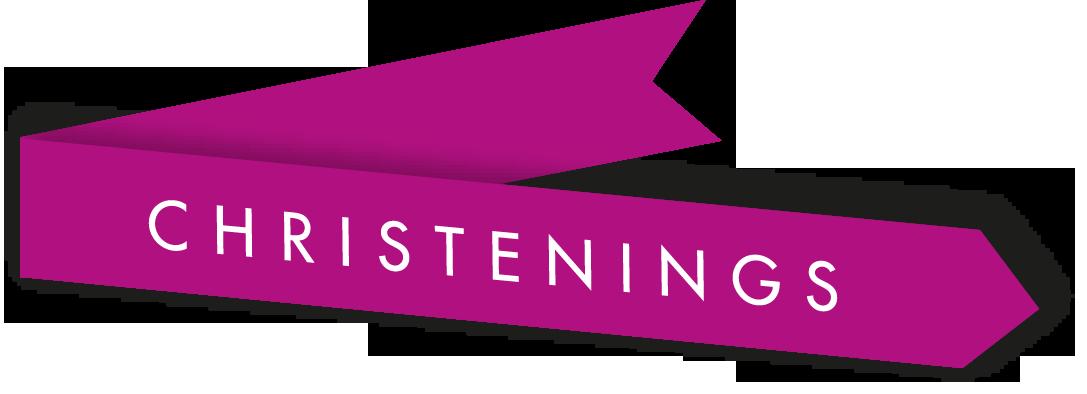 Christening logo