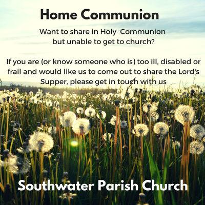 home communion button