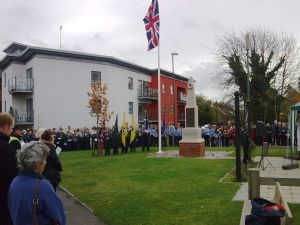 Remembrance Service at Southwater War Memorial