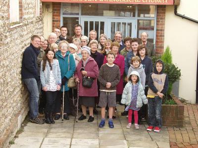 Church family Jan 2015