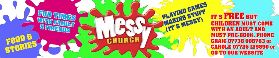 Messy Church Banner