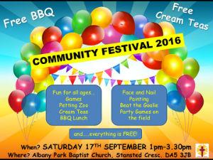 Community Festival poster