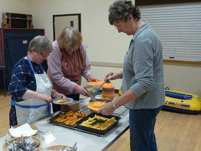 Messy Church Loaves and fish Nov 16