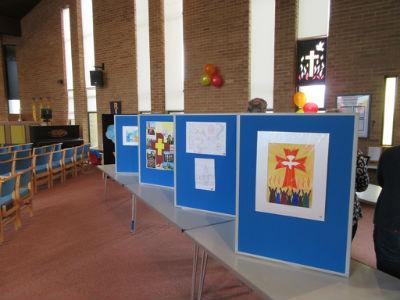 Pentecost Festival artwork displays 3