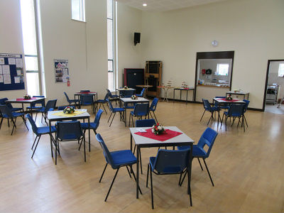 St Andrews recently refurbished church hall