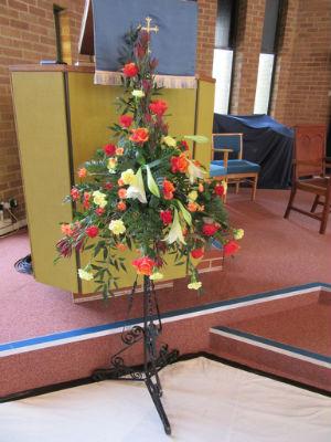 Pentecost Festival flowers 1