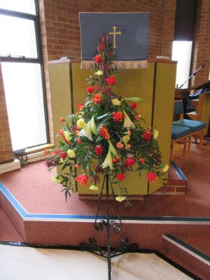 Pentecost Festival flowers 2