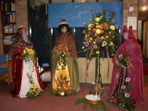Flower Festival 11 Advent 2015